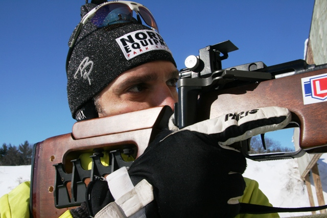 Winter Biathlon Popular with VCB Riders